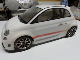 new hpi switch abarth fiat 500 fwd cup racer
