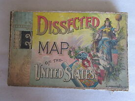 1894 dissected map of the united states