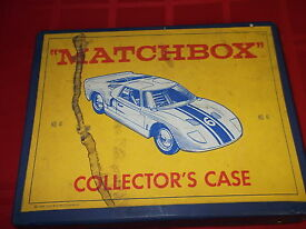 matchbox collector s case w cars vintage