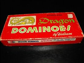 1945 double o and vintage dragon dominoes