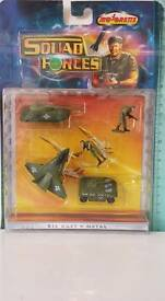 1997 military squad forces die cast metal