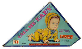 vintage call me baby doll 1950 s 0138 japan