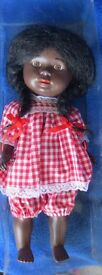 schildkrot black doll antique 1940 s 13