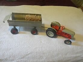 vintage ford 8n tractor trailer wagon set co