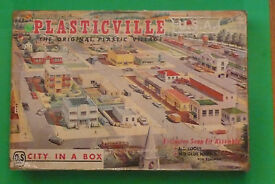 plasticville 5900 city in a box org set from