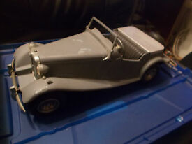 1952 model mg diecast scale sports roadster