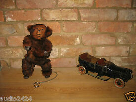 roullet decamps bear antique toy french