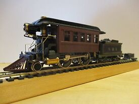 ho scale 2 4 0 kitbashed track inspection