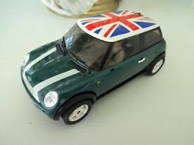 mini cooper slot car 1 32 scale fitted with