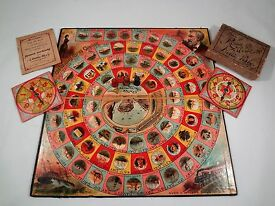 antique 1890 around world nellie bly game by