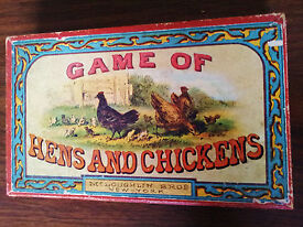mcloughlin bros game of hens and chickens