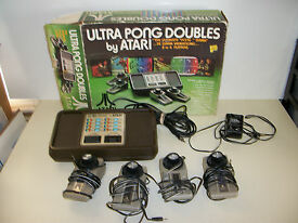 atari ultra pong doubles game system console