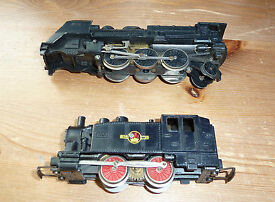 2 x playcraft joeuf steam locos ho gauge