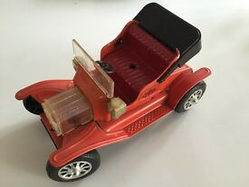 tn japan rare vintage tin 1950s jalopy car