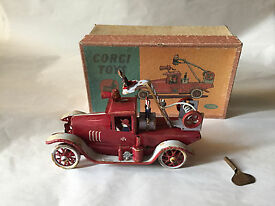 50 corgi 1008 boxed vintage tin toys wind up
