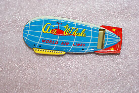 vintage 1950 s airwhale zeppelin world lines