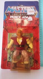 masters of the universe prince adam mattel