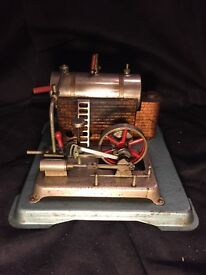 jensen live steam engine model 75 vintage