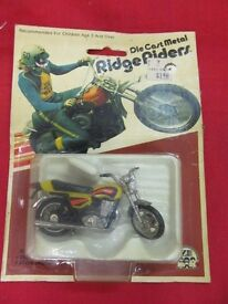vintage rare 1979 die cast ridge riders