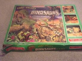 lost valley of the dinosaurs vintage board