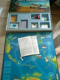 1970 vintage air charter board game complete