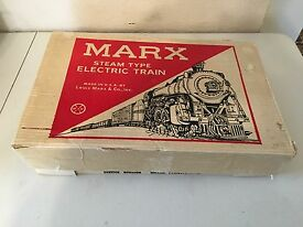 marx 4205 electric train set complete and