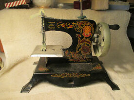 s little miss toy sewing machine no 203 with