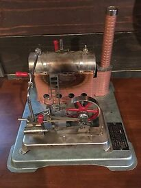 vtg jensen model 75 dry fuel steam engine