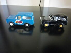 lot of 2 vintage diecast ford broncos