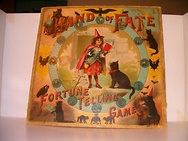 hand of fate fortune telling game circa 1901