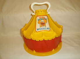 vintage 1977 hasbro weeble wobble circus