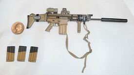 soldier story 1 6 scale mk16 scar l rifle