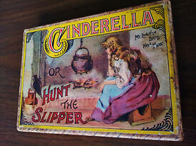 mcloughlin bros cinderella or hunt the