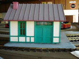 lgb pola g scale station warehouse building