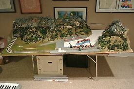 z scale model train layout 1999 99