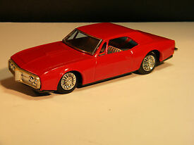 vintage 1967 firebird by bandai of japan tin