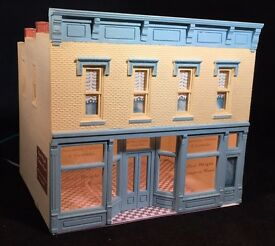 ho scale 2 story building saul wright dpm