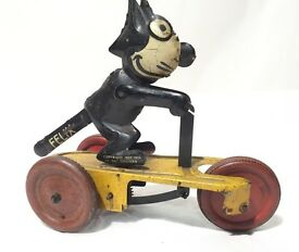 felix le chat gunthermann tin toys jouet