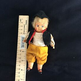 antique schildkrot german celluloid doll