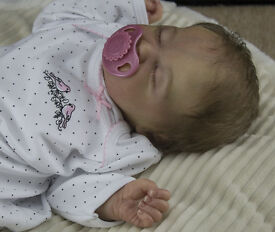 reborn baby from le kami rose sculpt by