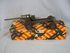 boxed elastolin post war long range gun