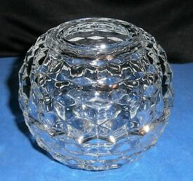 vintage clear glass fostoria american for 3