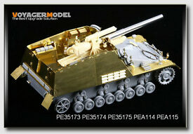 voyager pe35173 1 35 wwii nashorn hornisse