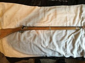 vintage disney pirate cadet musket rifle toy