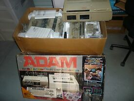 adam red box computer game system console w
