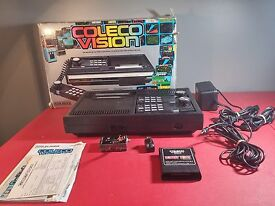 video game system w donkey kong in box