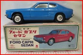 tin toy tin friction ford ford capri sedan