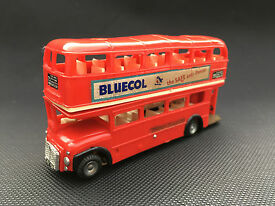 tri ang m154 double decker routemaster bus
