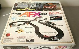 1974 afx model motoring pit row special race