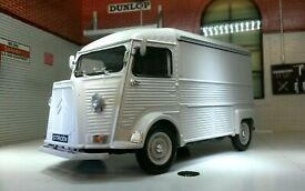 citroen h tipo van welly g 1 24 scala